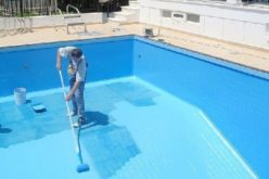 The essentials of painting a swimming pool