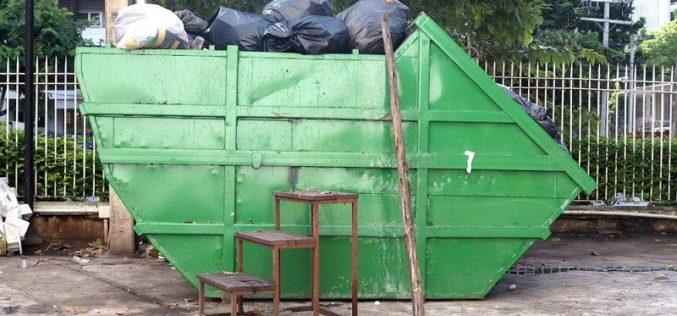 Go green with skip bins
