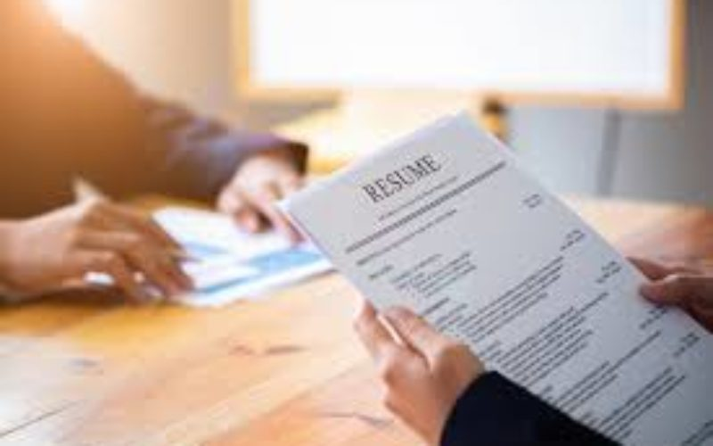 Why you need a resume?