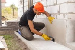 Construction and repair work with a concreter Geelong company