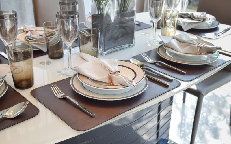 What do you need to look for in having a table set?